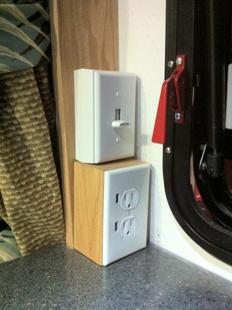 USB Outlet and Mood light Dimmer