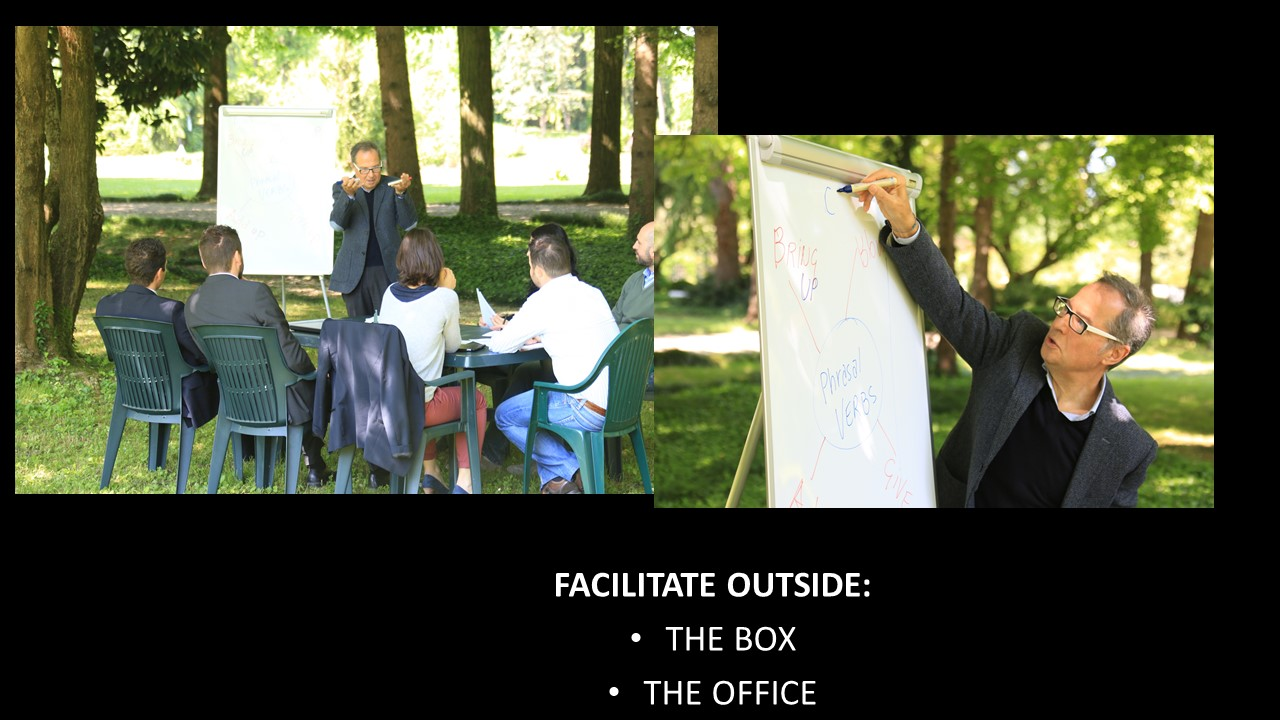 Facilitate Outside (The office and..the box)