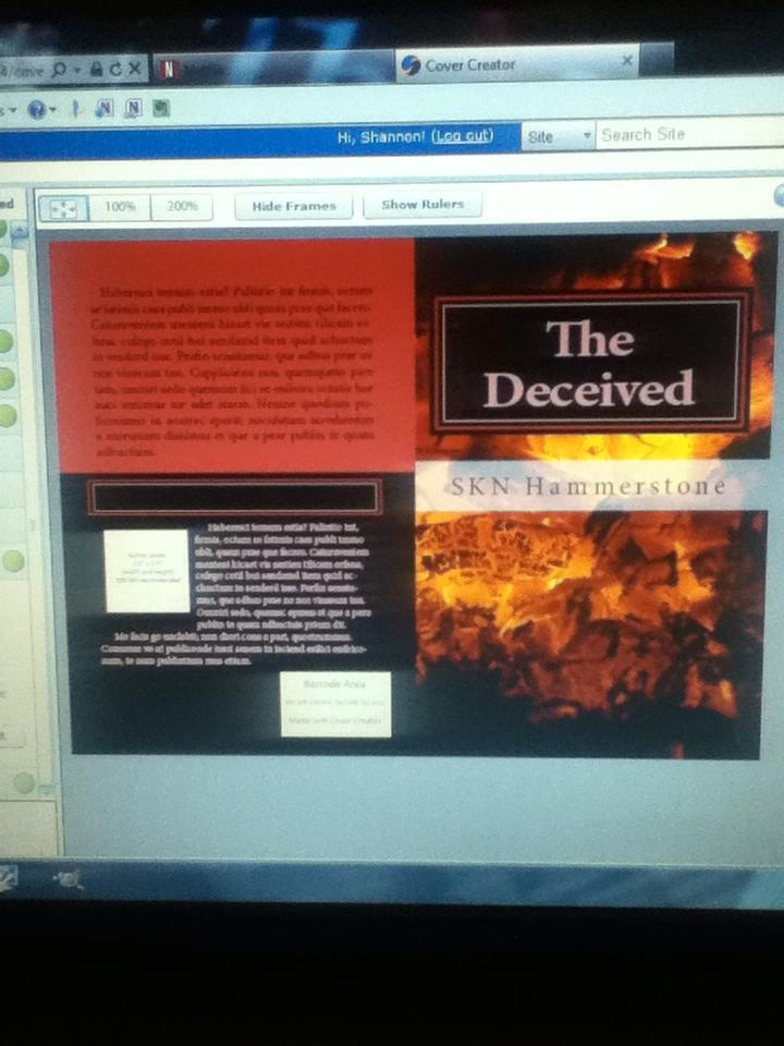 Cover reveal of The Deceived