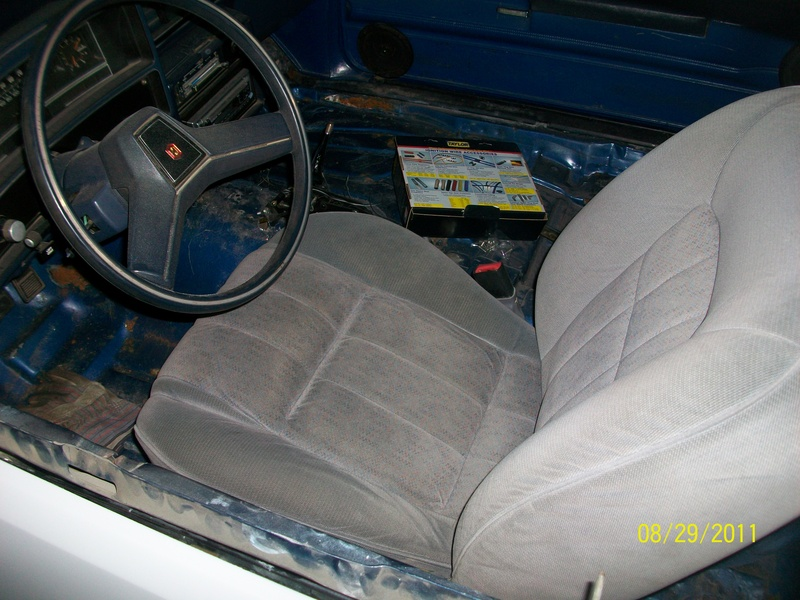 From Old to New Seats for the El Camino