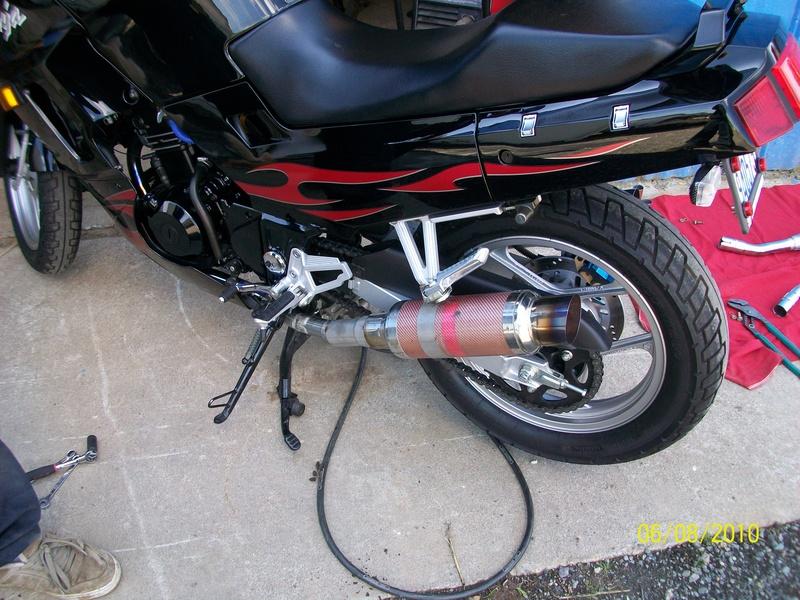 Motor Cycle Exhaust