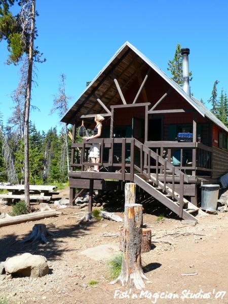 Olallie Small Cabin
