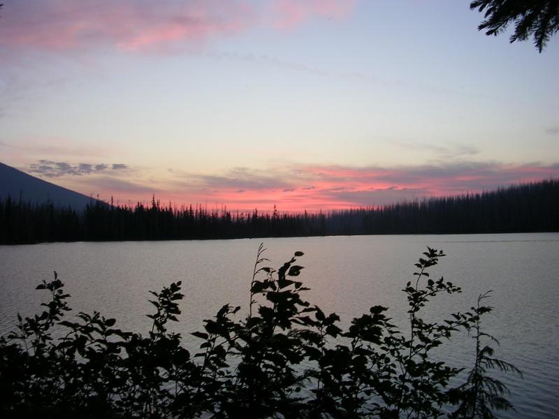 Monon Lake Sunset