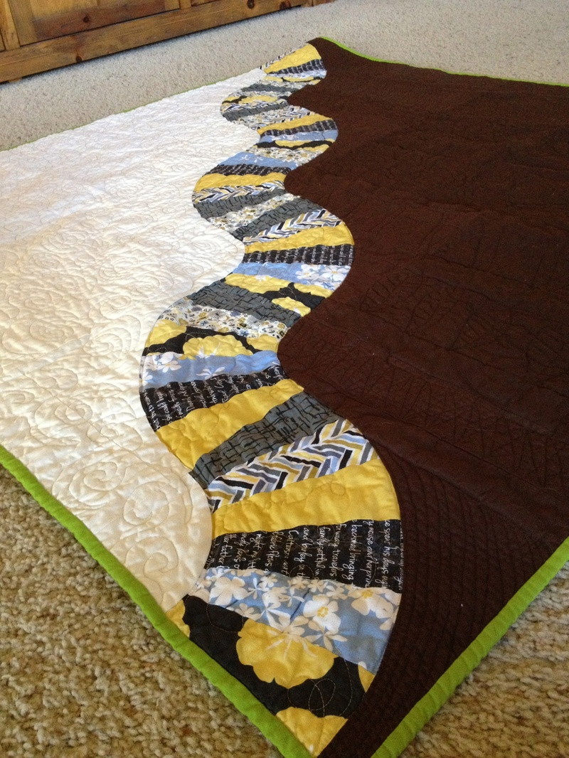 Madrona Road challenge quilt
