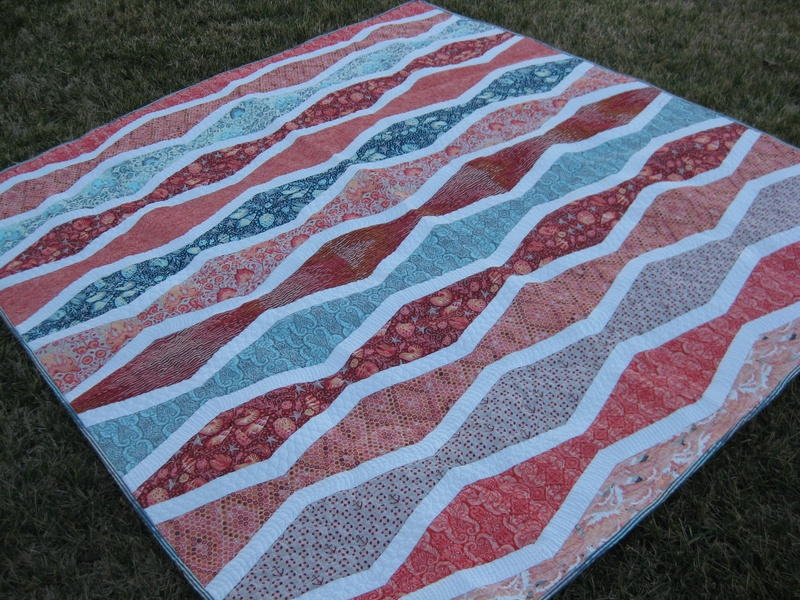 Saltwater New Wave quilt