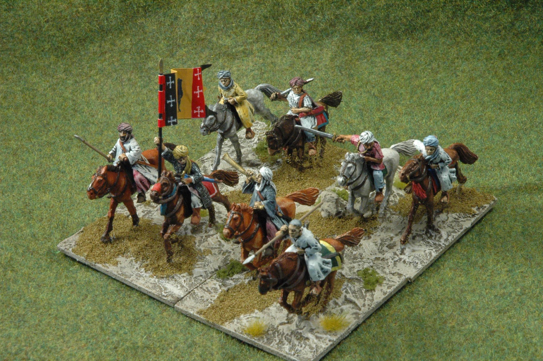 Lakhmid cavalry for Sassanid Army    ideas ??