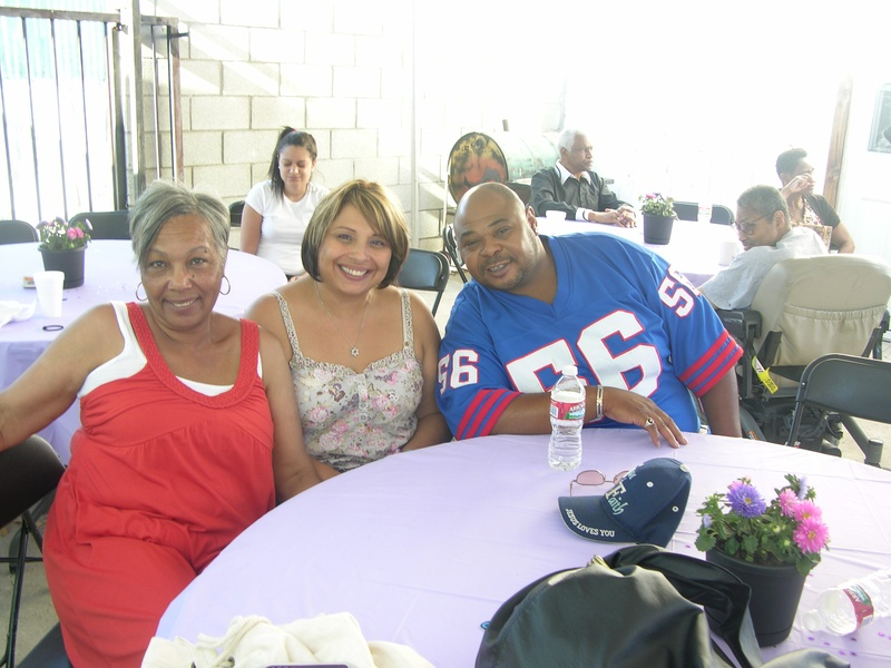 Gladys, Marlene and Dale