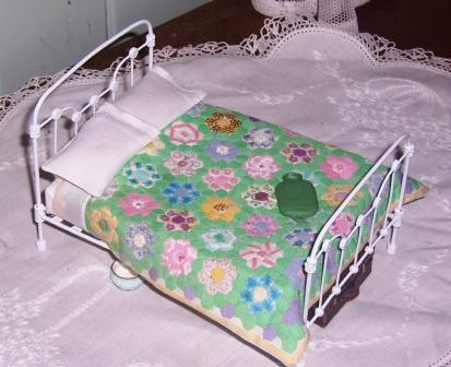 Bed and Quilt