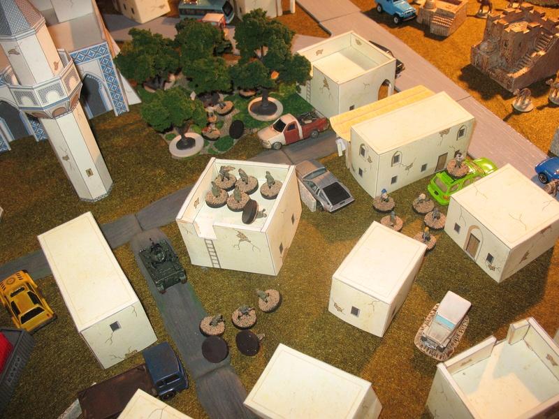 Elbonian regular army moves in
