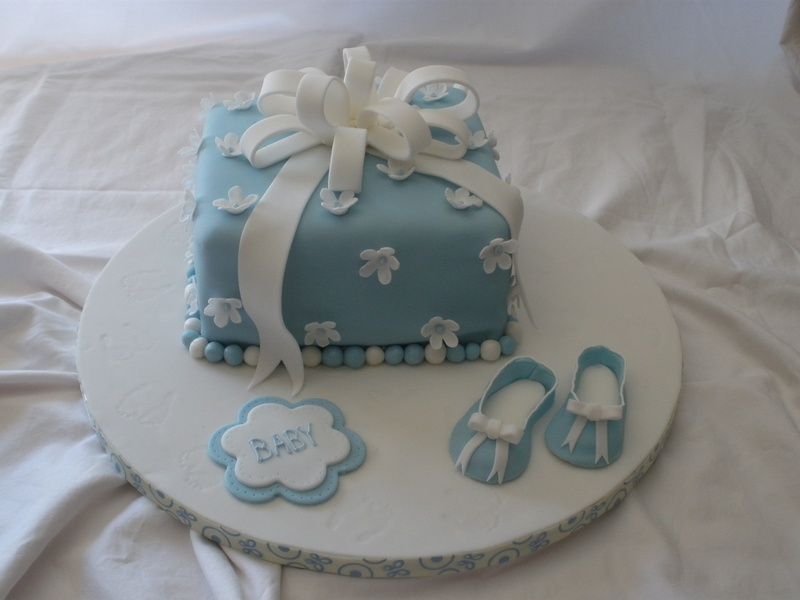 Fondant Cake Ideas For Baby Shower : Baby Shower Cake - Another Slice of Cake