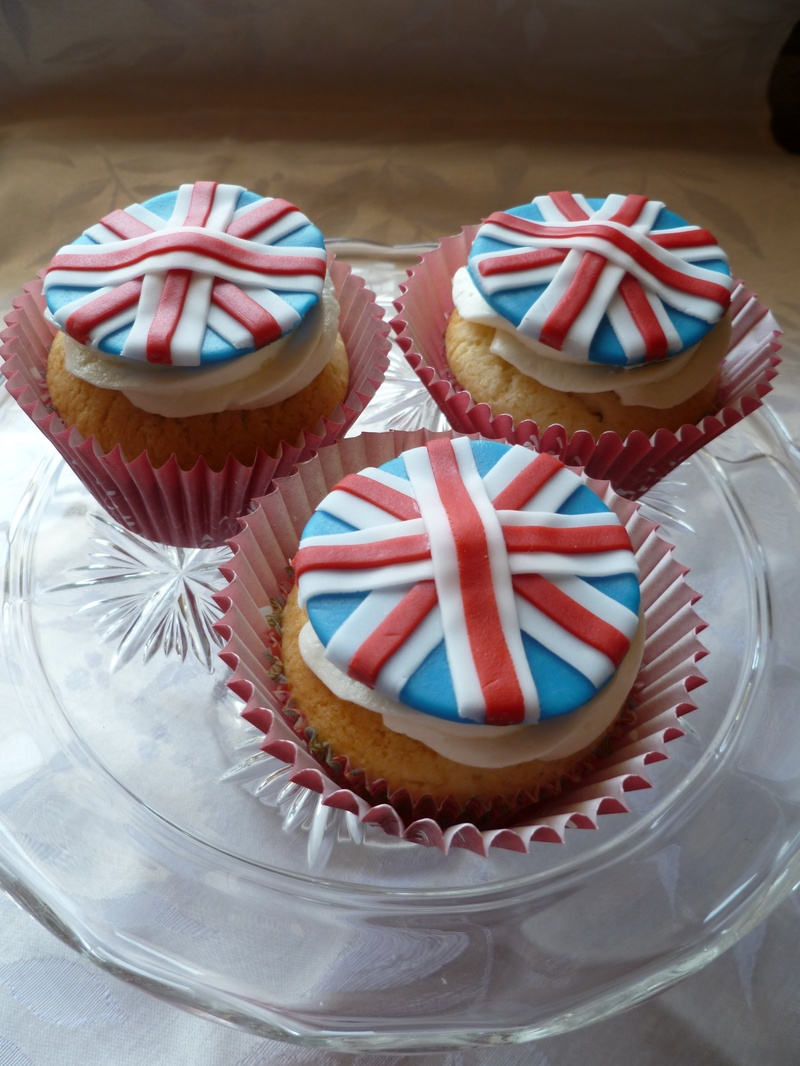 Royal Wedding Tea Party Cupcakes