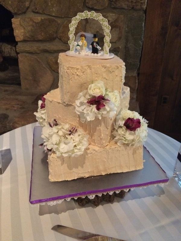 Rustic Sweet Potato Wedding Cake