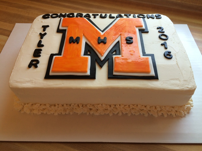 Middletown Knights Graduation Cake