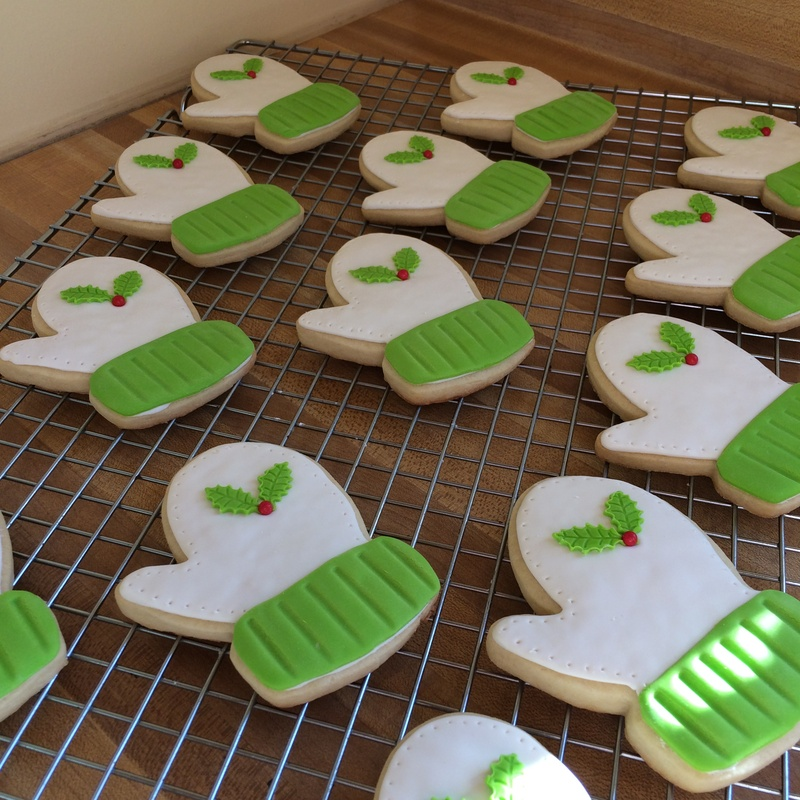 Mittens Sugar Cookies