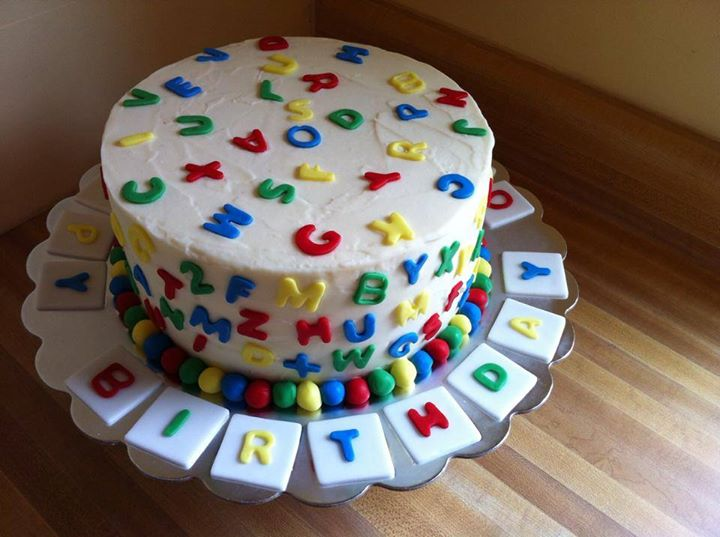 Cake Images With Letter S : ABC Cake - Another Slice of Cake