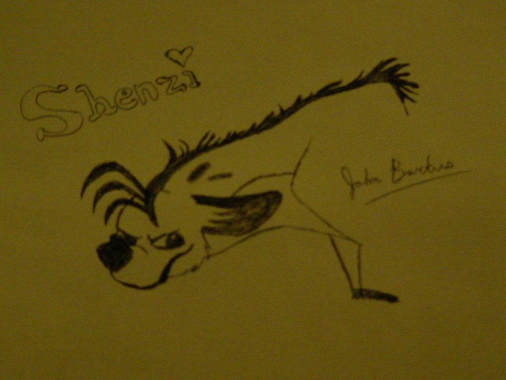 Shenzi the Hyena