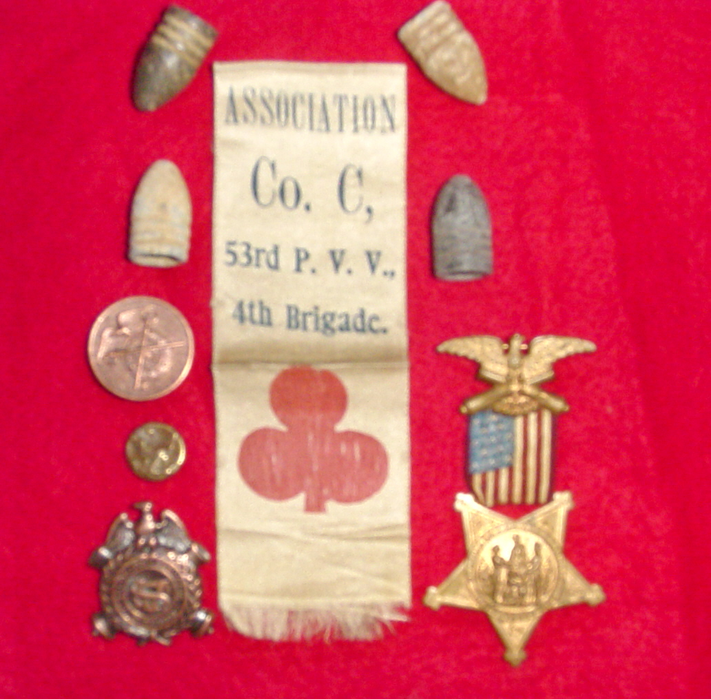 Pvt. Strong's Items Related to his service