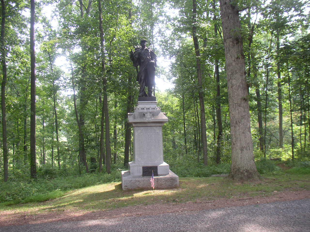 53rd Regmt. Monument - Gettysburg