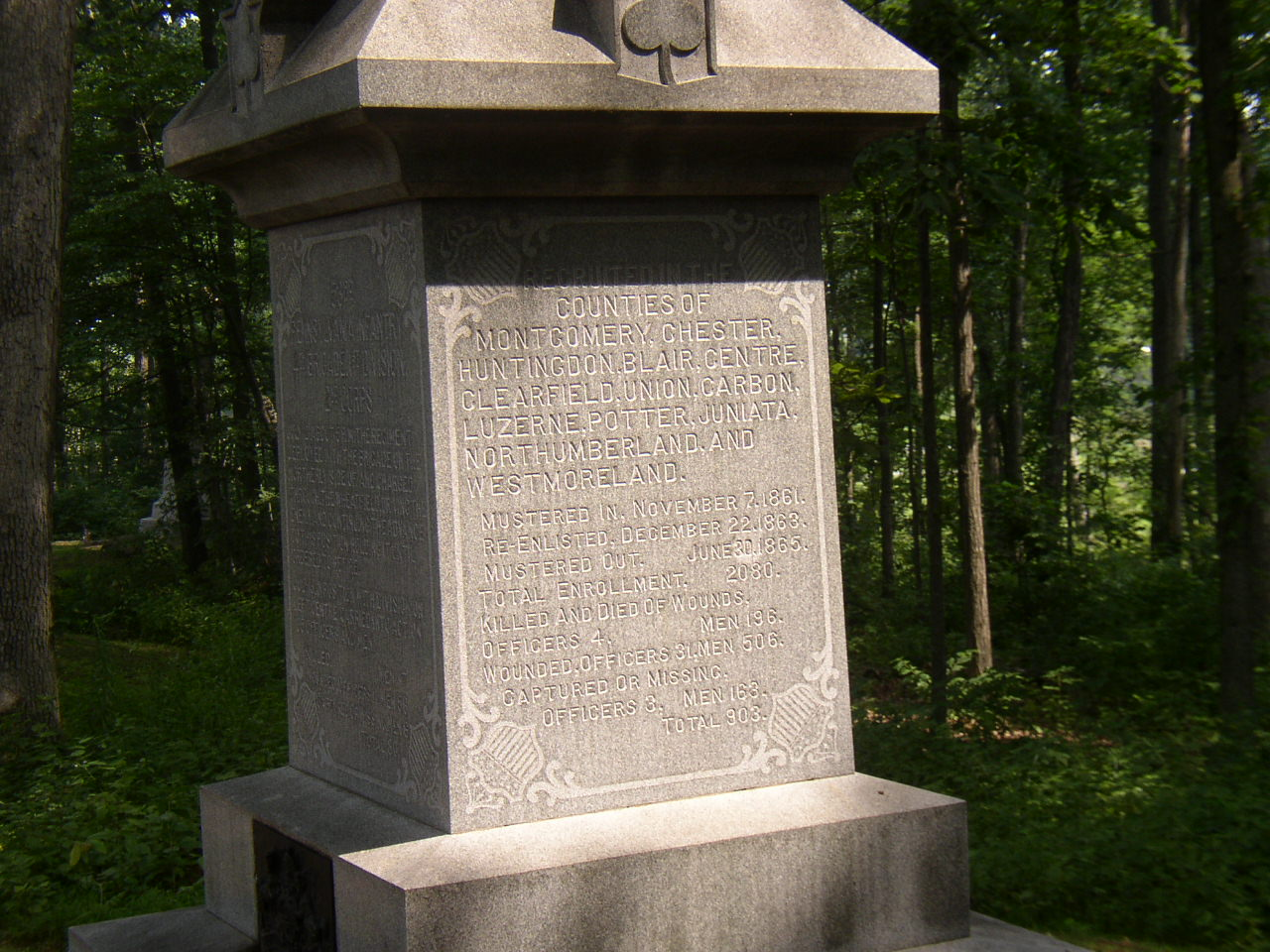 53rd Regmt. Monument