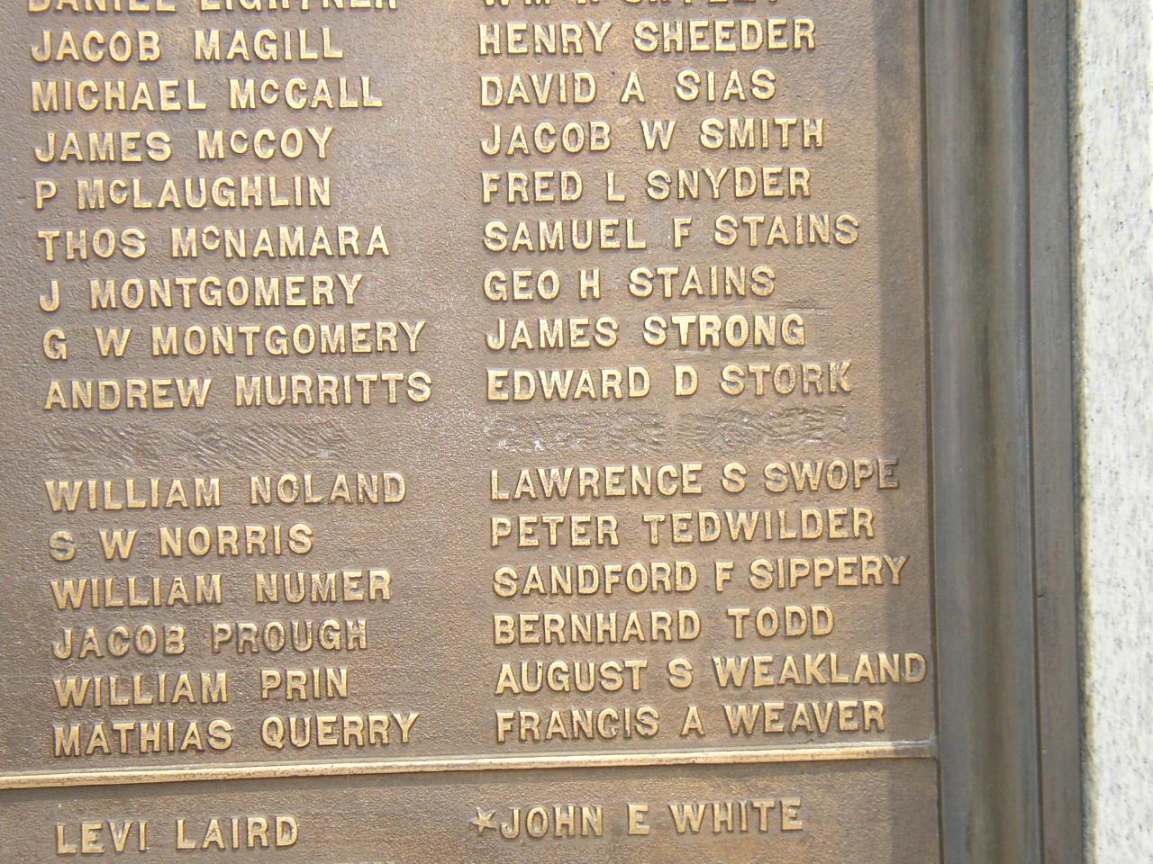 PA Monument @ Gettysburg