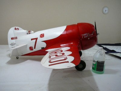 Mitch's 1/4 scale Gee Bee R-2