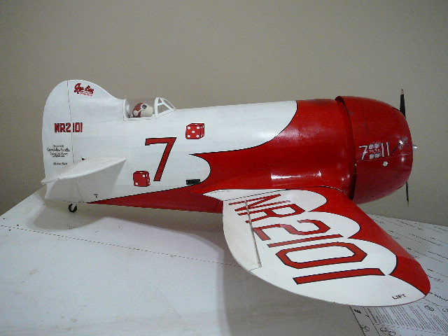 Gee Bee 1/4 scale R-2