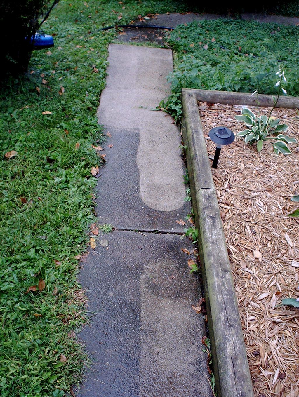 Small sidewalk