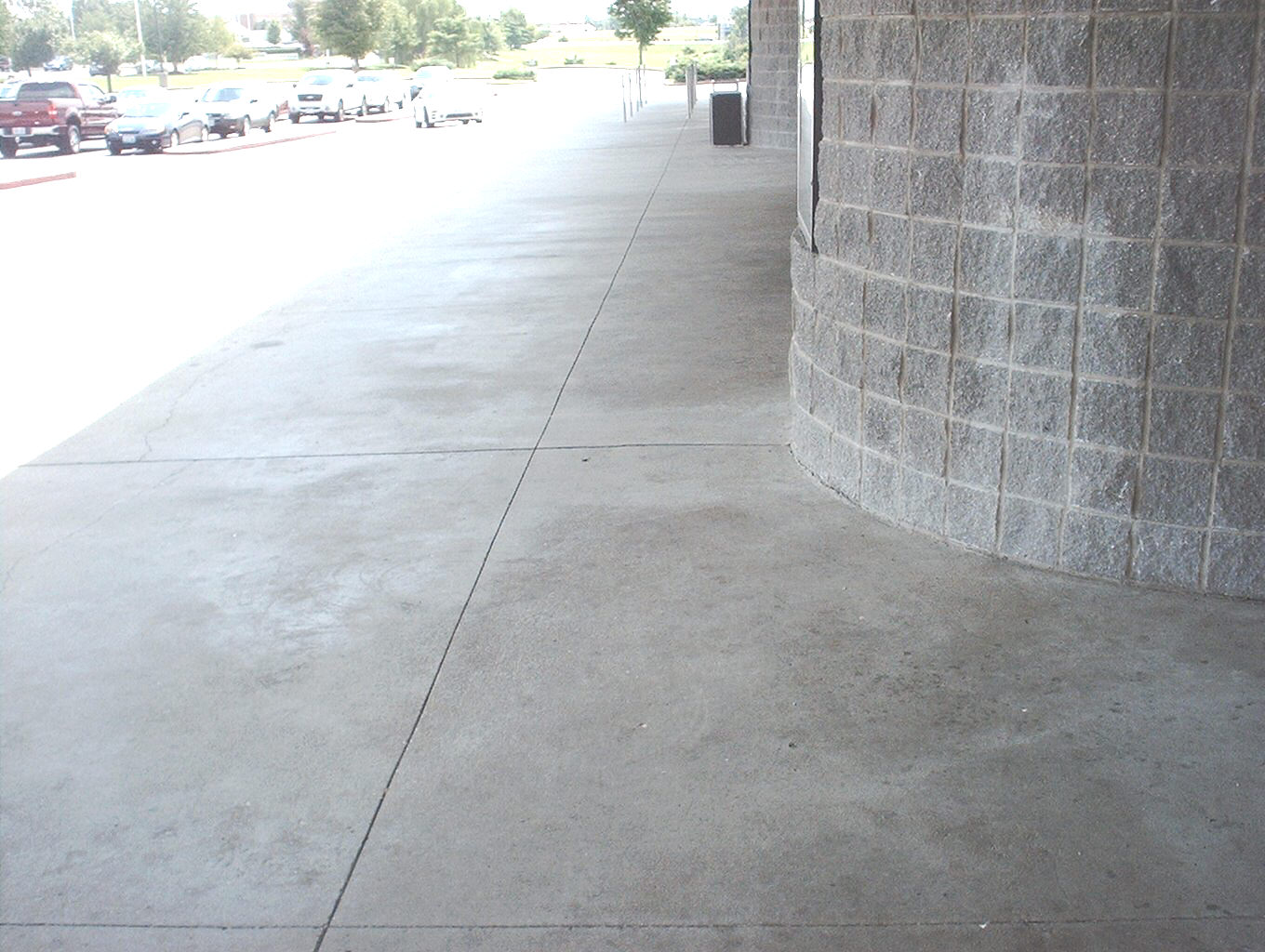 What a person can expect when cleaning concrete
