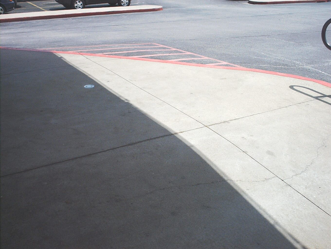 Concrete after cleaning