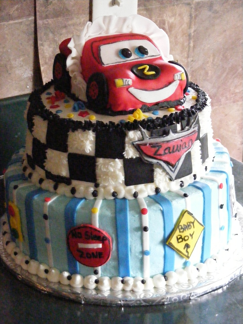 Disney Cars Baby Shower Cake Angel Pies