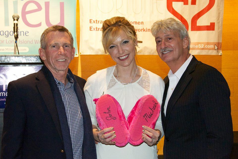 John, Michael & Karin! (&The Slippers)