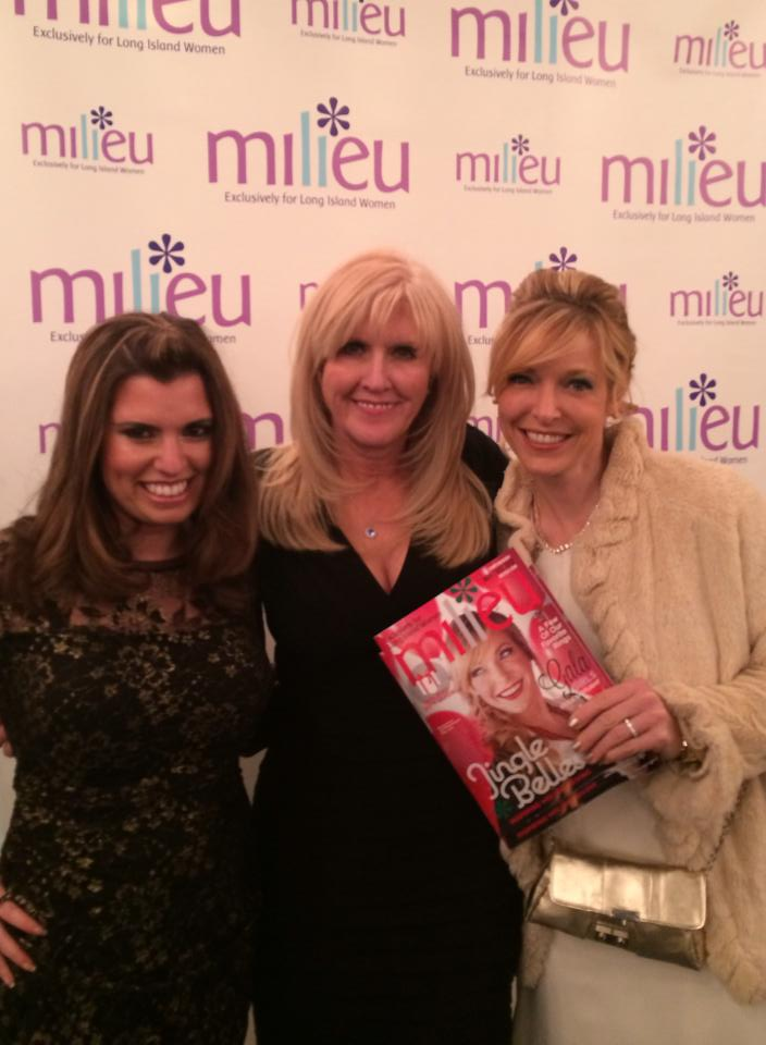 Sara, Beverly & The Cover Girl!