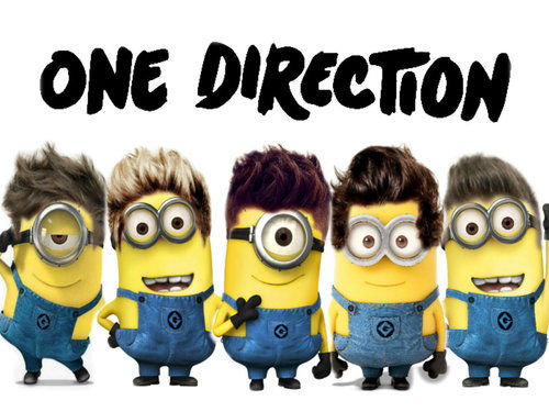 One Direction Minions