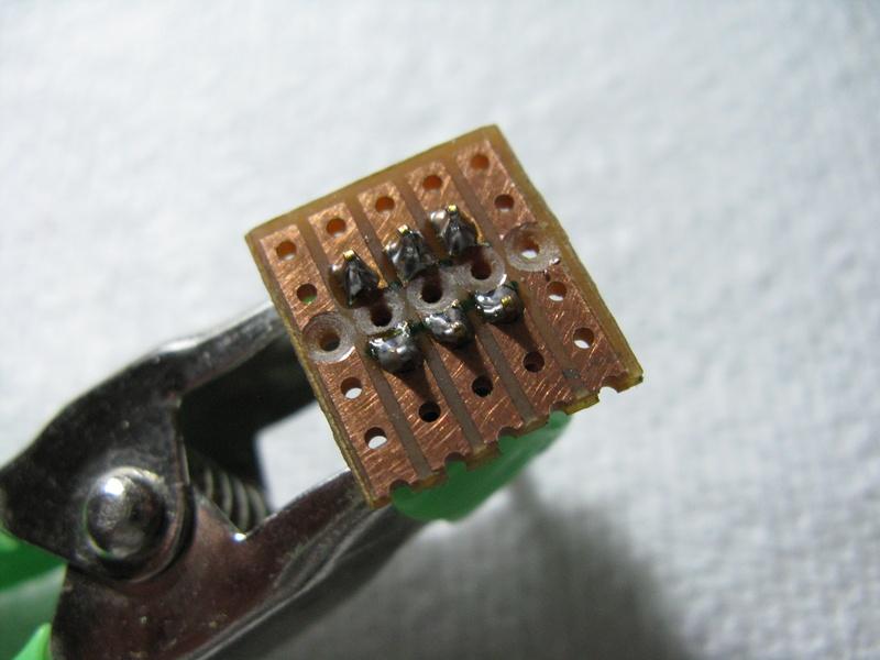 Micro DPDT Switches on Vero
