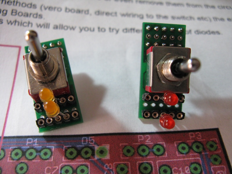 DPDT Switches