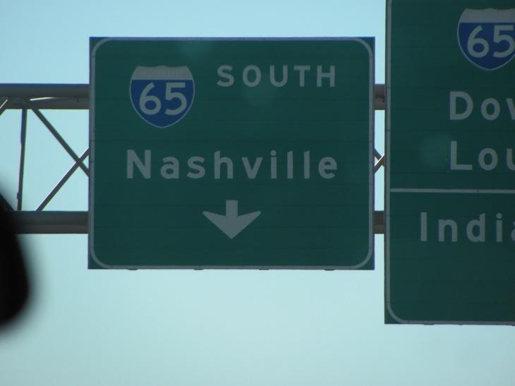 From I265 to I65 s toward nashville