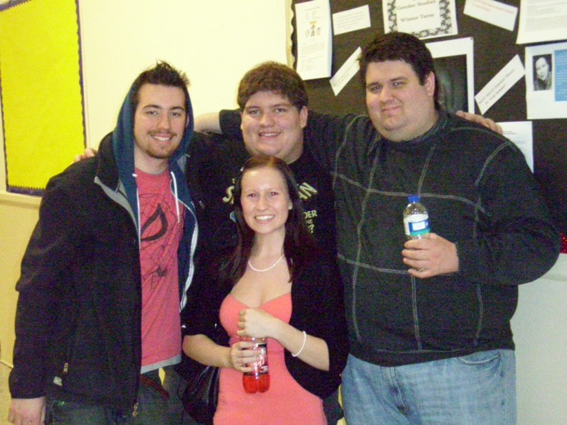 Marshall, Brad, Melinda and John