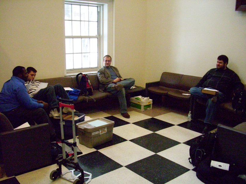 Carlos, Alan, Nathan (ISU) and John