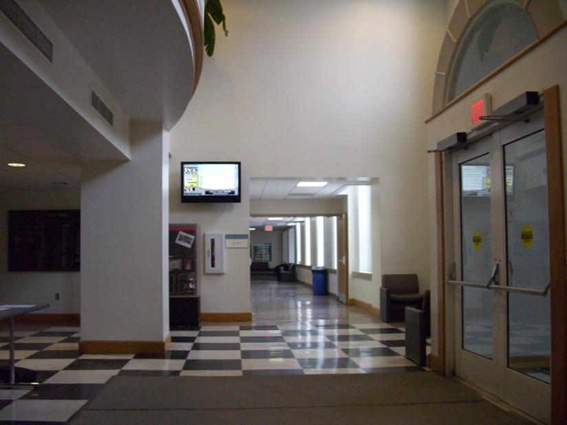 Fell Hall entrance