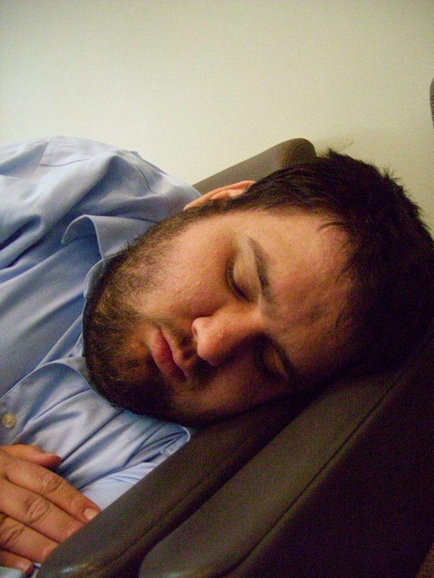 John in deep sleep