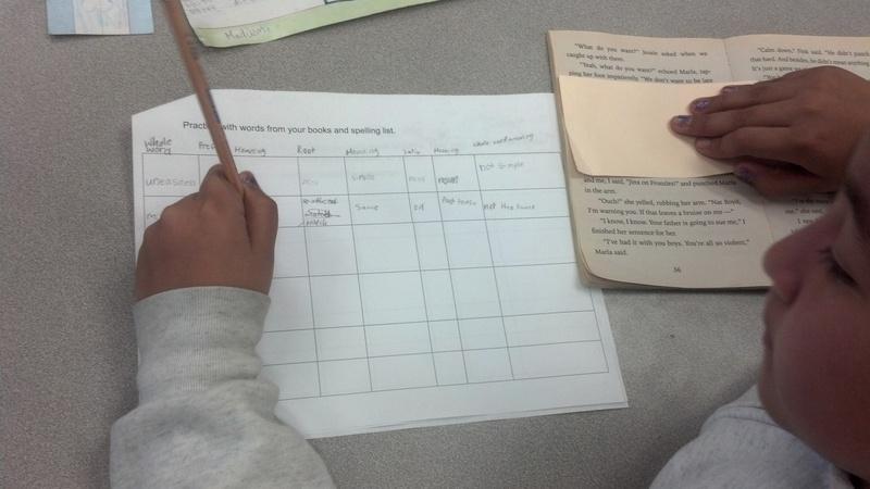 Root word worksheet