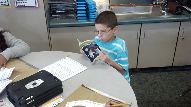 Finding evidence during book clubs
