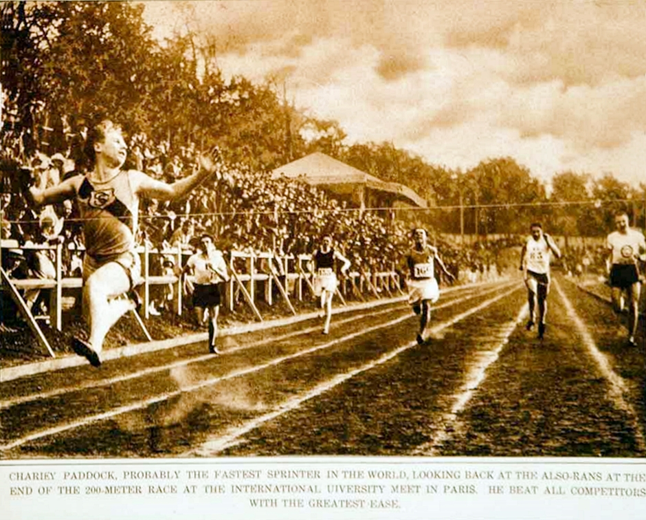 1923 - 200 Meter race in Paris