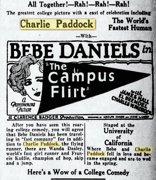'The Campus Flirt` ad