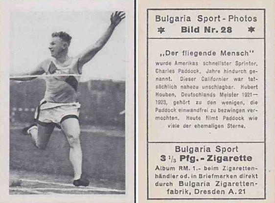 Bulgarian Trading Card