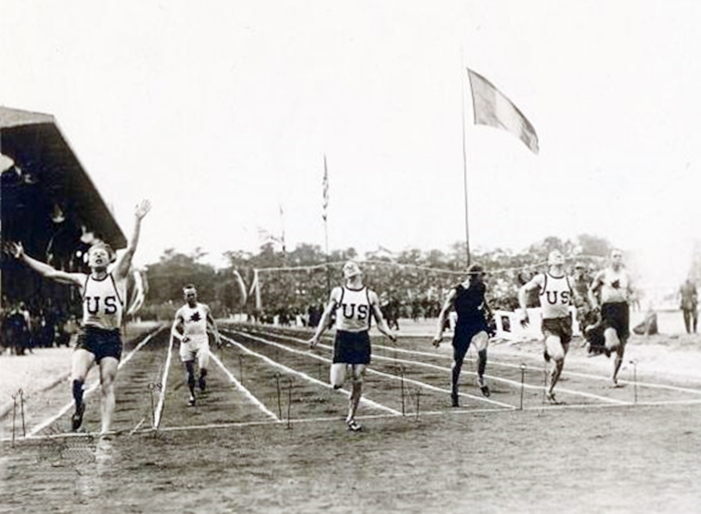 r-Allied Games in 1919 Paris -100m