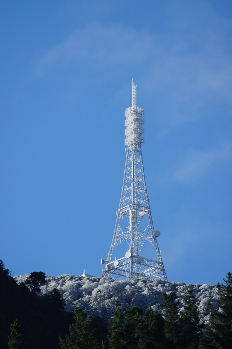 Ice on TV Mast