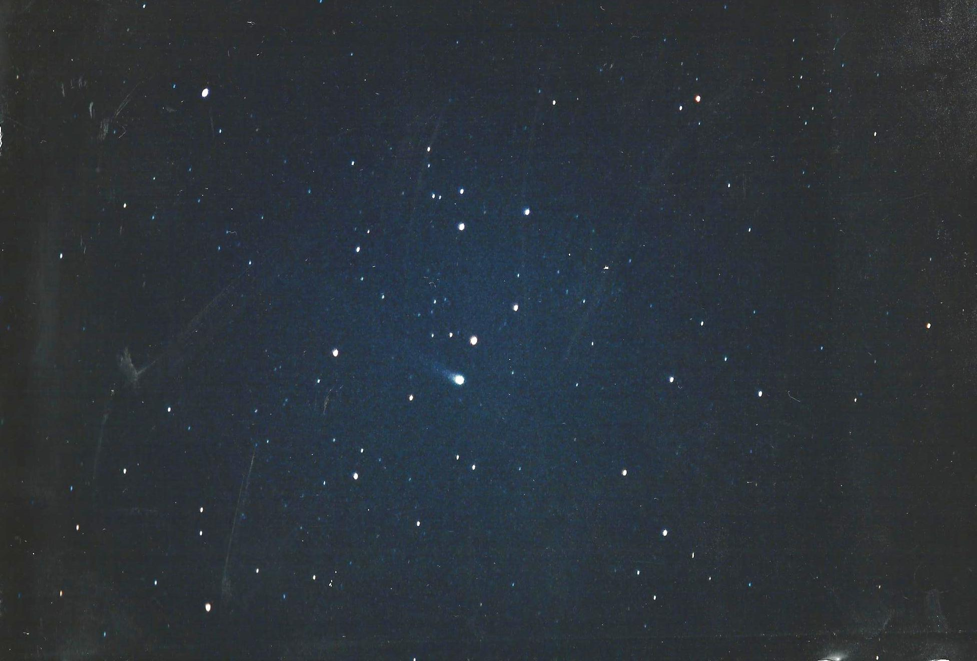 Comet Halley in January 1986
