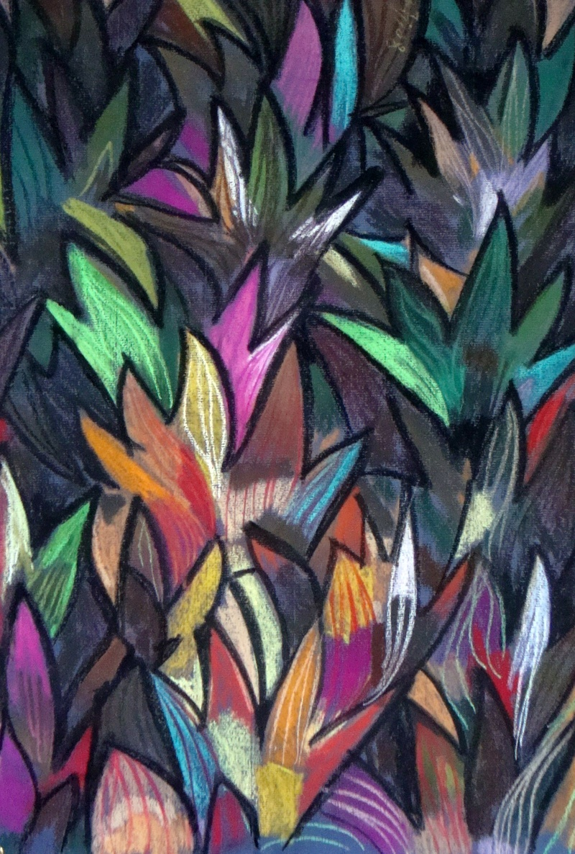 Leaves -  Pastels