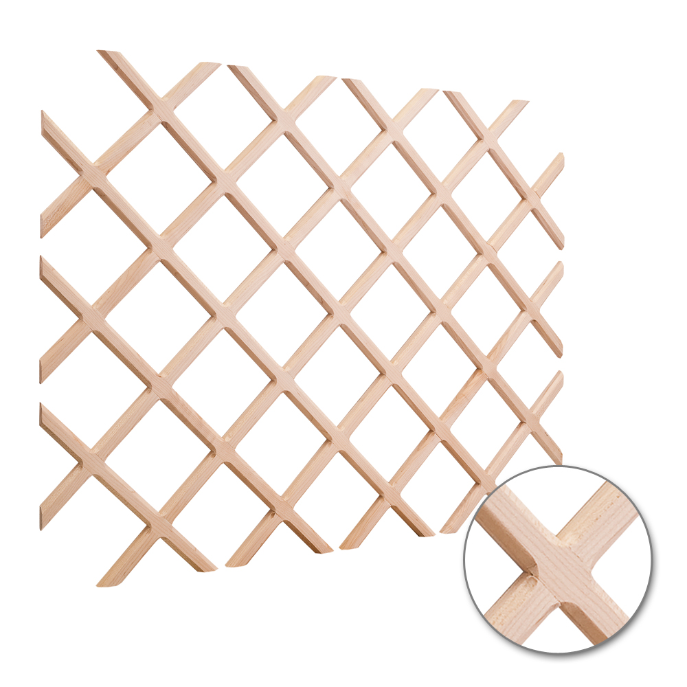 Wine Rack Lattice 1 routed